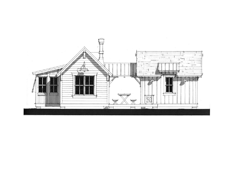 Weekend cottage pearl cottages traditionally styled for Weekend cabin floor plans