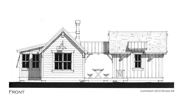Weekend Cottage - Pearl Cottages - Traditionally-styled, green built, pre-fab rooms, guest suites and homes